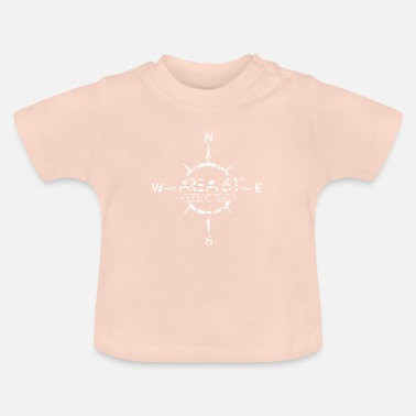 Undergound Area 61 ° Nordic Zone - Compass - Baby T-Shirt