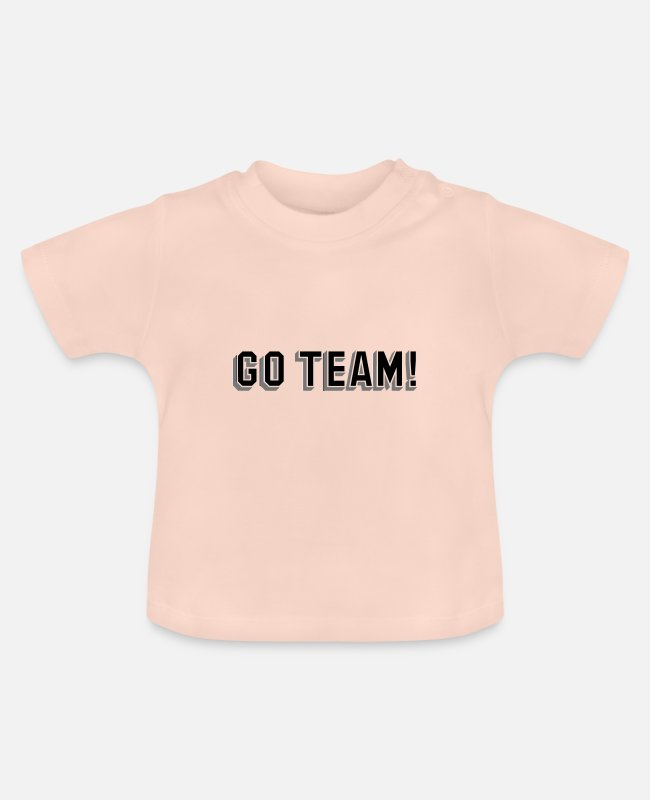 Team Bride Baby T-Shirts - Los Team Teamsport Team Sport Gift - Baby T-Shirt crystal pink