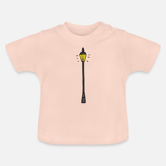 Lantern Baby Clothes - Lantern - lighting - Baby T-Shirt crystal pink