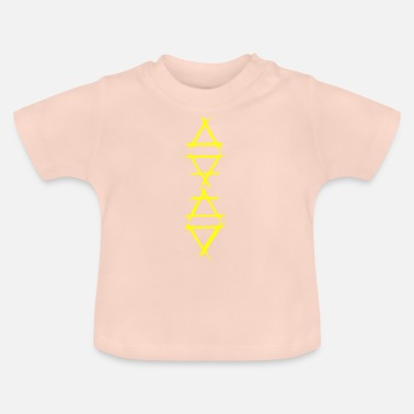 Element Element Icon 4 Elements Yellow - Baby T-Shirt