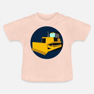 Emblems Kids Kid's Dozer Emblem - Baby T-Shirt