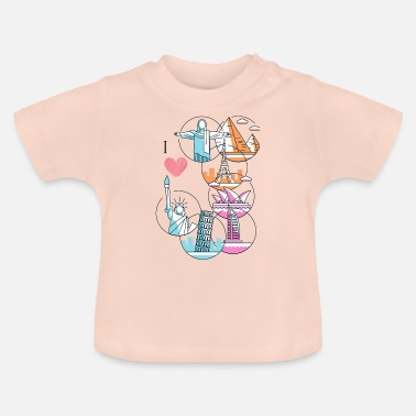 love travel - Baby T-Shirt