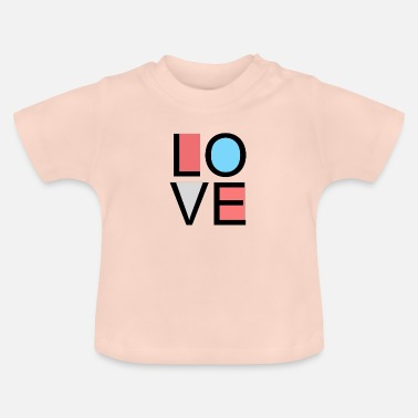 Lovely love - Baby T-Shirt