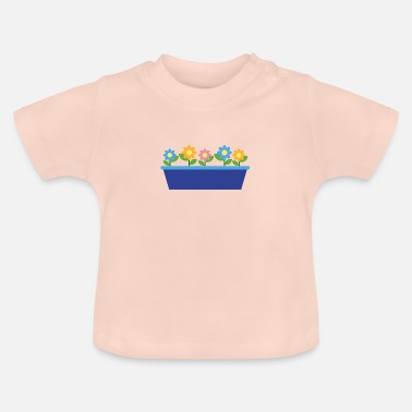 Graphic Art sommarblommor - T-shirt baby
