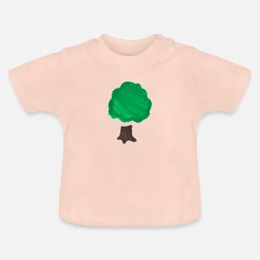 Deciduous Tree Deciduous tree - from kindermalerei - Baby T-Shirt