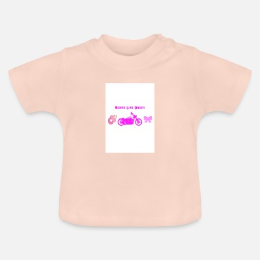 Daddy Riding like Daddy - Baby T-Shirt