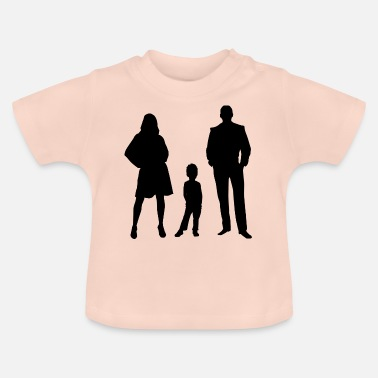 Cartoon family - Baby T-Shirt