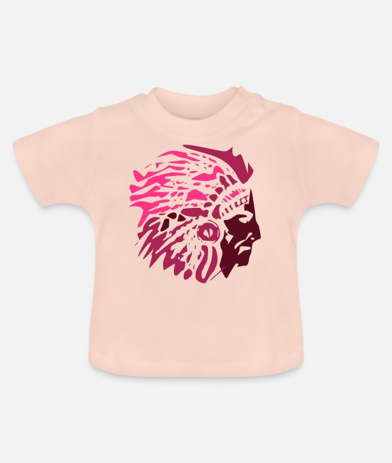 Tent Baby shirts - Indiaan - Baby T-shirt kristalroze