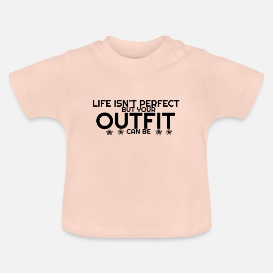 Stylish Baby Clothes - Fashion Outfit - Baby T-Shirt crystal pink
