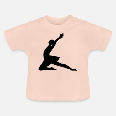 Pirouette Ballet Design Color Changeable Ballerina Gift - Baby T-Shirt