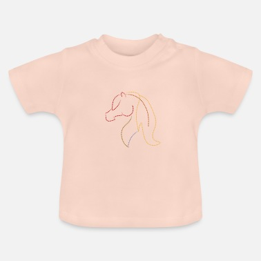 Point cheval - T-shirt Bébé