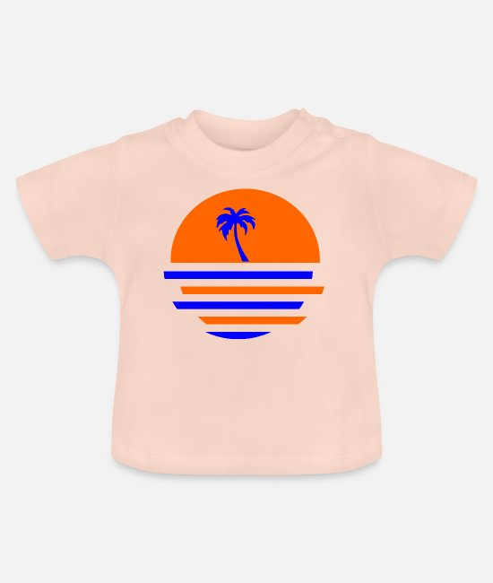 Gift Baby shirts - palmboom - Baby T-shirt kristalroze