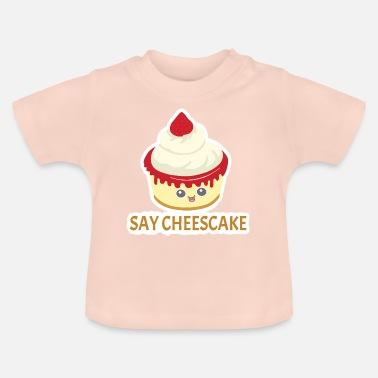 Cheesecake Say Cheesecake Cheesecake Cheesecake Day 30 luglio - Maglietta neonato
