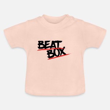 Letter Boxing Beat box music lettering - Baby T-Shirt