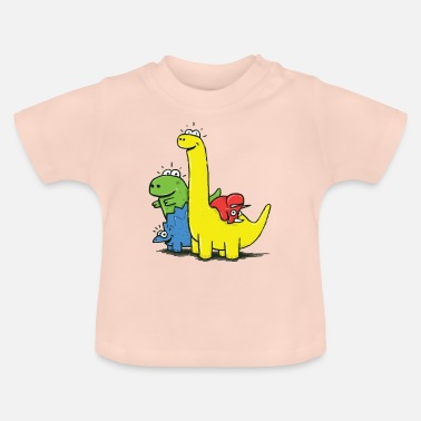 Dino Gang, Colored - Baby T-Shirt