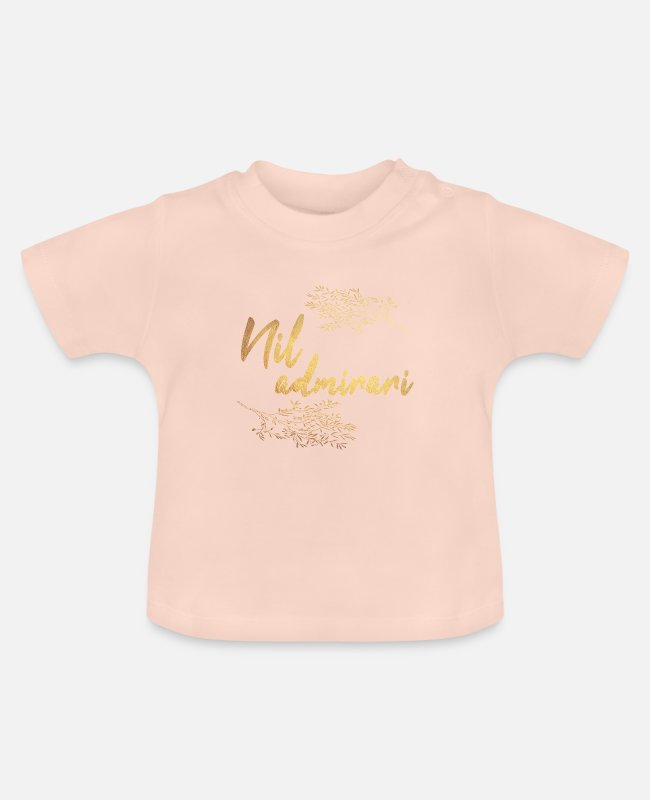 Quote Baby T-Shirts - Latin - Baby T-Shirt crystal pink