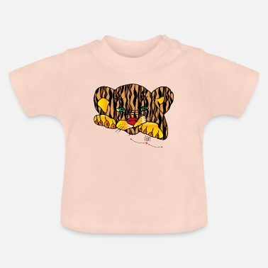 Life Force Power Animal Tiger - Master of Life Force - Baby T-Shirt