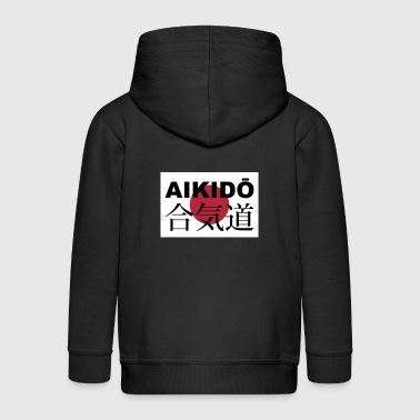 I Love Aikido Zip Hoodie