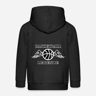 American Eagle Basketball Legende Ball Flügel - Kinder Premium Kapuzenjacke