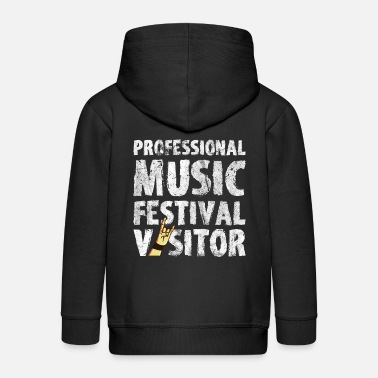 Concertgoers Music Festival Open Air Concert Party Gift - Kids' Premium Zip Hoodie