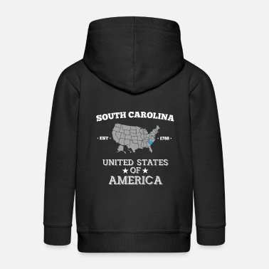 South Carolina South Carolina - Kids' Premium Zip Hoodie
