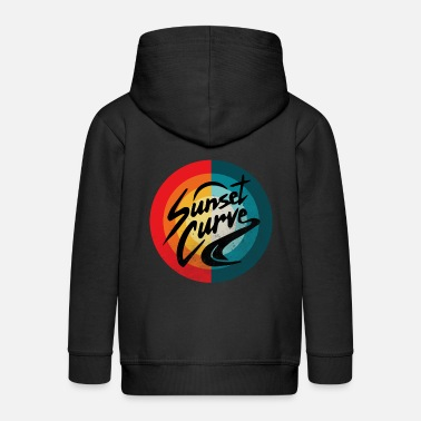 Flag Vintage Julie Phantoms Sunset - Kids' Premium Zip Hoodie