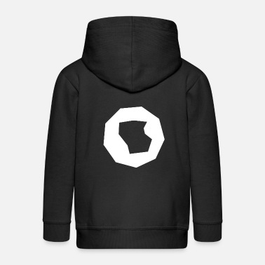 Polygon Polygon polygon abstract - Kids' Premium Zip Hoodie