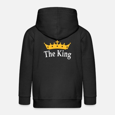 Koning The King - Lasten premium hupparitakki