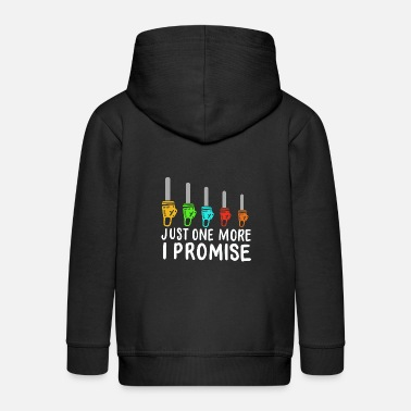 Holzmann Just One More Chainsaw I Promise - Kids' Premium Zip Hoodie