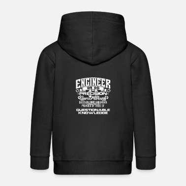 Funky ENGINEER WE DO - Kids' Premium Zip Hoodie