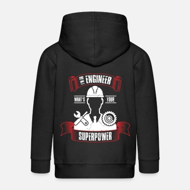 Engineer industrial engineer mechanical engineering - Kids' Premium Zip Hoodie