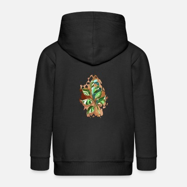 Colorful Leaves Colorful leaves - Kids' Premium Zip Hoodie