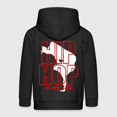 hip hop is my life - Veste à capuche Premium Enfant