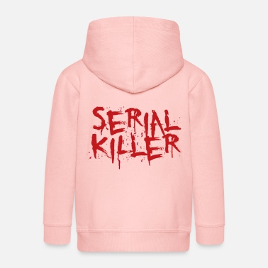 Serial Serial killer - Kids' Premium Zip Hoodie