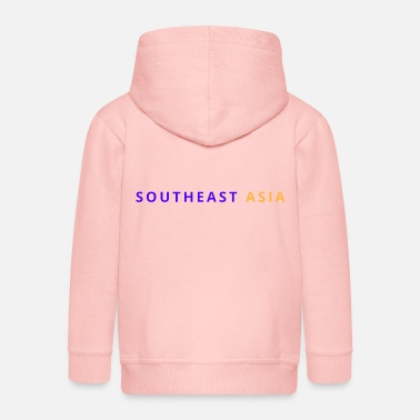 South East Asia South East Asia - Kids' Premium Zip Hoodie