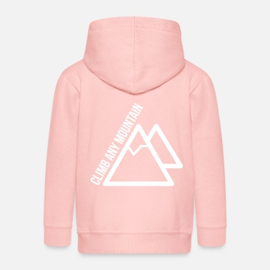 Climb Any Mountain - Kinder Premium Kapuzenjacke