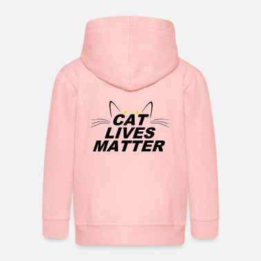 Pet Underwear CAT LIVES MATTER - Kids' Premium Zip Hoodie