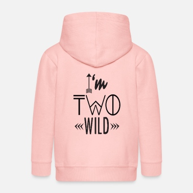 Wild I am Two Wild - Kinder Premium Kapuzenjacke