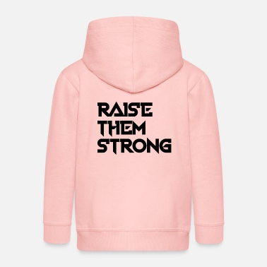 NEW RAISE THEM STRONG STYLISH GIFT IDEA OUTFIT - Kinder Premium Kapuzenjacke