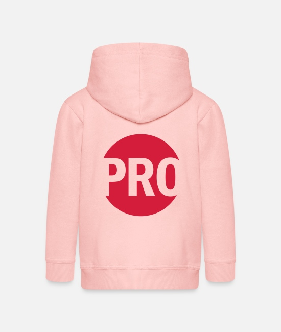 Shooter Hoodies & Sweatshirts - PRO - Kids' Premium Zip Hoodie crystal pink
