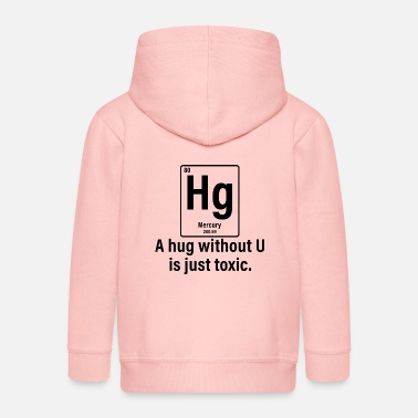 Senior Chemistry saying university student gift - Kids' Premium Zip Hoodie