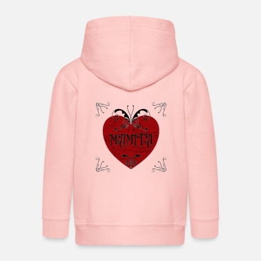 Teufelsweib MAMITA DESIG, GIFT TO MOTHER DAY - Kids' Premium Zip Hoodie