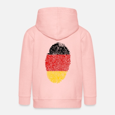 Imprint Imprint Germany Imprint with the flag Germany - Kids' Premium Zip Hoodie