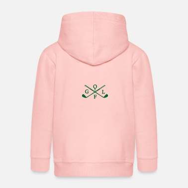 Golf Instrution Golf club - Kids' Premium Zip Hoodie