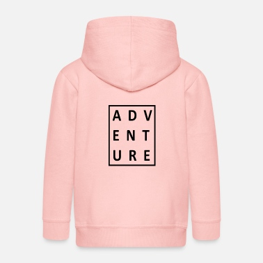 Outdoor Travel Adventure Nature - Kids' Premium Zip Hoodie