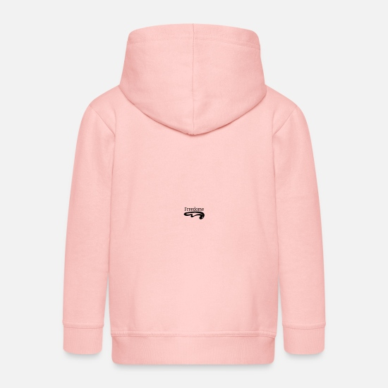 Gift Idea Hoodies & Sweatshirts - Freedome freedom design - Kids' Premium Zip Hoodie crystal pink