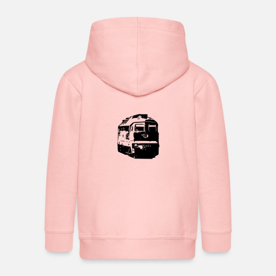 Locomotive Hoodies & Sweatshirts - Diesel - Kids' Premium Zip Hoodie crystal pink