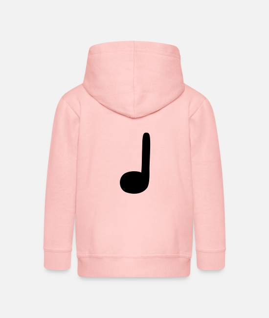 Guitar Hoodies & Sweatshirts - crotchet - Kids' Premium Zip Hoodie crystal pink