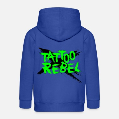 Green Rebel TATTOO REBEL X Green - Kids' Premium Zip Hoodie