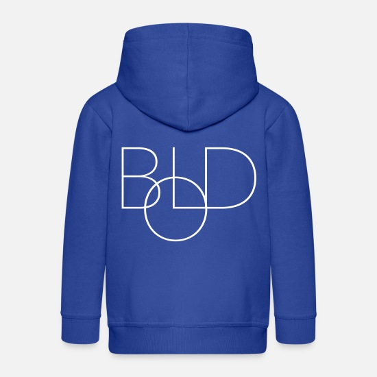 Big Hoodies & Sweatshirts - bold - Kids' Premium Zip Hoodie royal blue